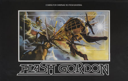 Flash Gordon poster promotionnel