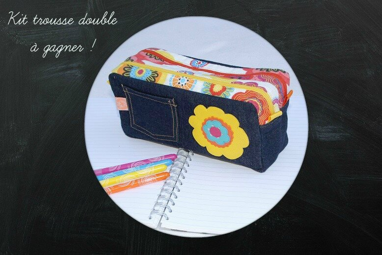 A gagner trousse fille recto