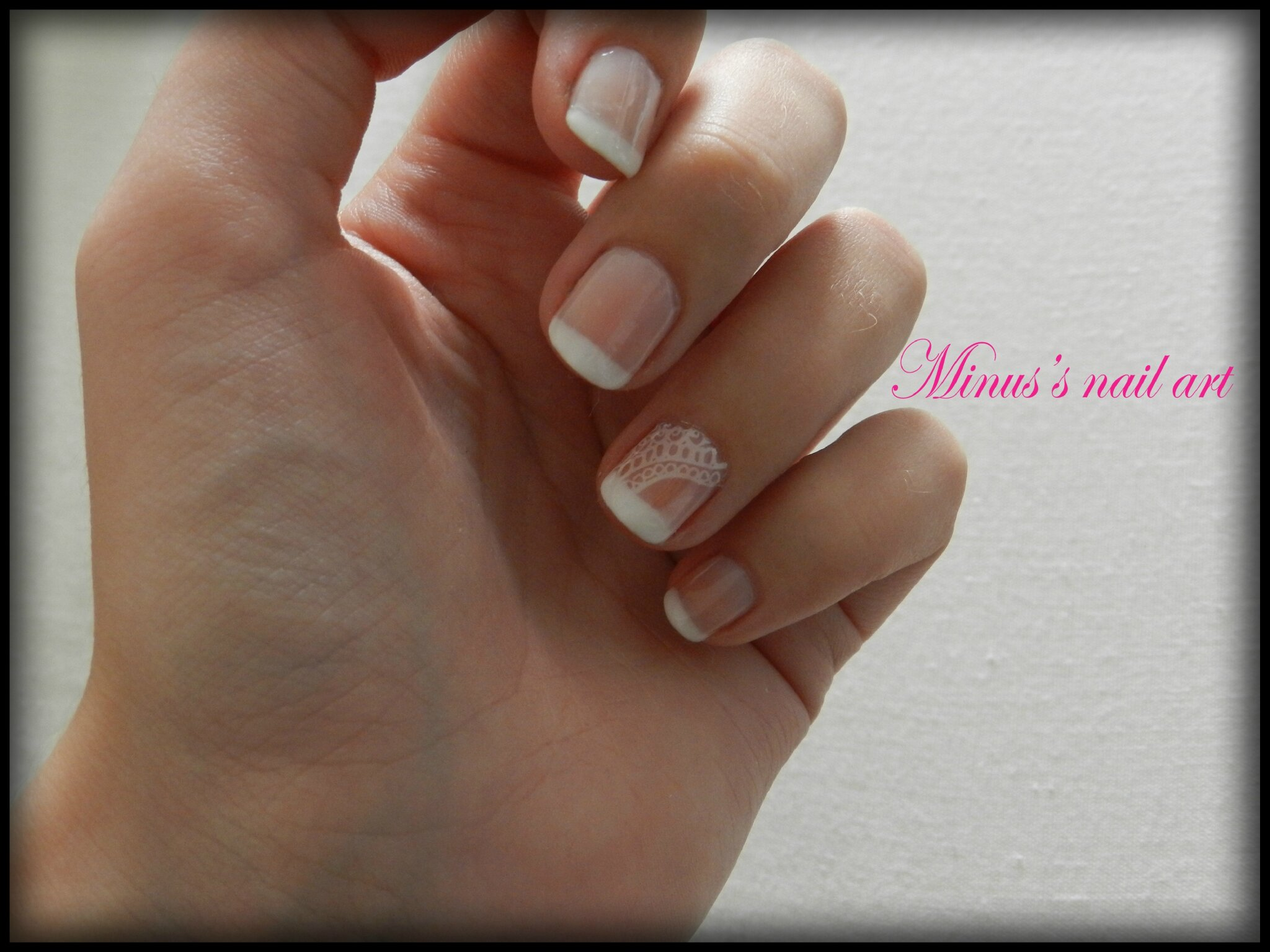 Tuto vernis semi permanent french - Tuto french manucure ...