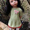 Tuto robe à plis pour poupée gotz (50 cms)