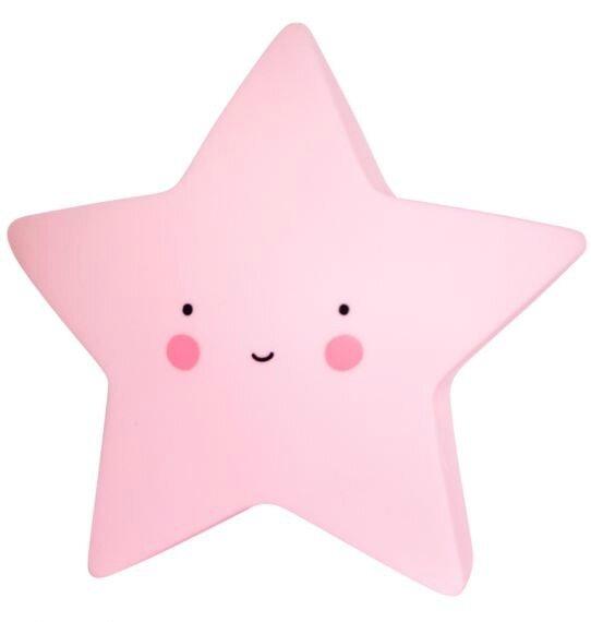 étoile rose 1