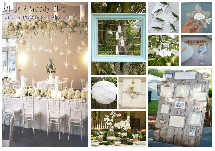 Connu INSPIRATIONS FETE DE FAMILLE #1 : White & Woody Chic ! - Le blog  PF23