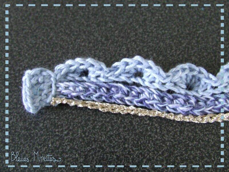Bracelet au crochet 03