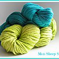 Drops et malabrigo :mon sheep shop