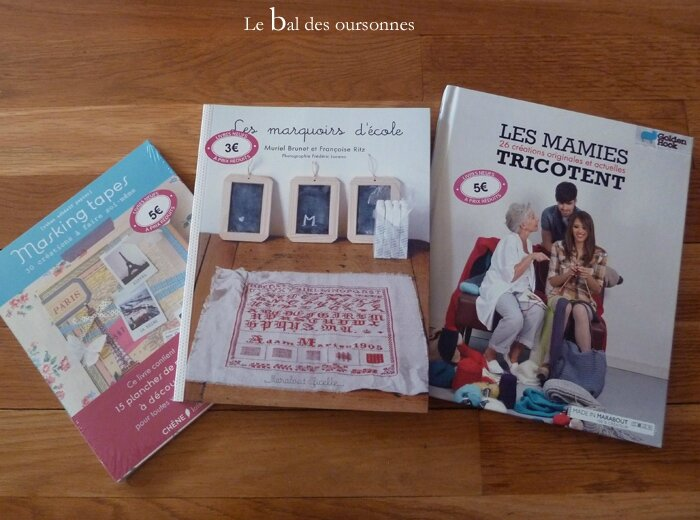 75 Livre crochet masking tapes point de croix