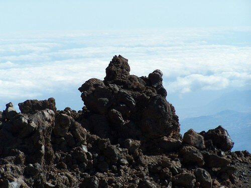Le Teide & roche au sommet