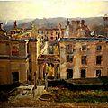 Dantan, Edouard Joseph, ruines du chateau de saint-Cloud (à vérifier)