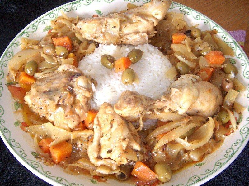 Yassa de poulet recette s n galaise yum - Recette de cuisine senegalaise ...