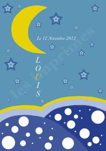 Sur la lune L
