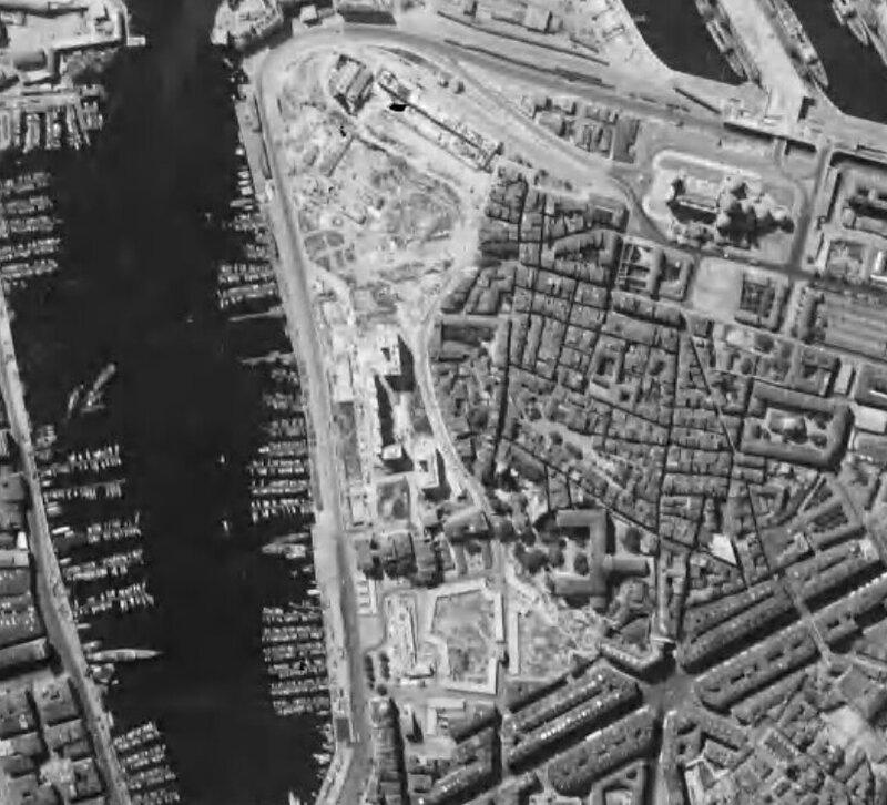 vieux port marseille 1950
