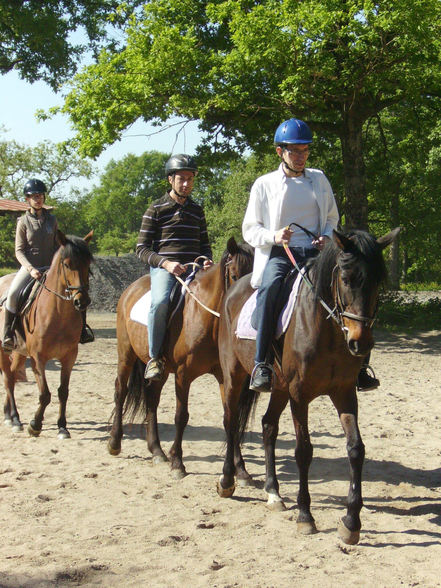 18 mai - Temps de cheval