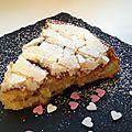 Gâteau aux pommes macaronés