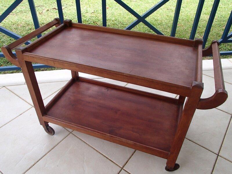 desserte atelier militaire 24 tiroirs plateau ch ne roulettes fonte vers 1940. Black Bedroom Furniture Sets. Home Design Ideas