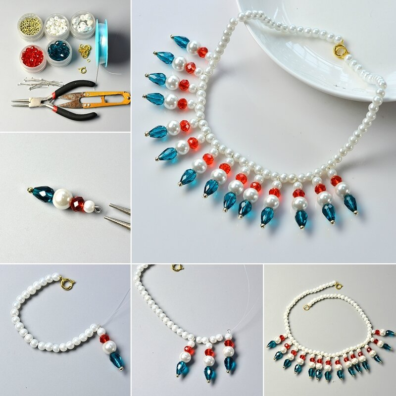 1080-Pandahall-Tutorial-on-How-to-Make-Elegant-Glass-Beads-Necklace-with-Pearl-Beads