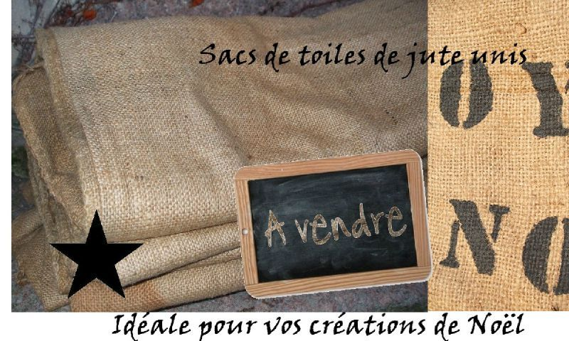 sac toile de jute ancien. Black Bedroom Furniture Sets. Home Design Ideas
