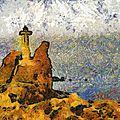 Dellys photos Painting style Van Gogh