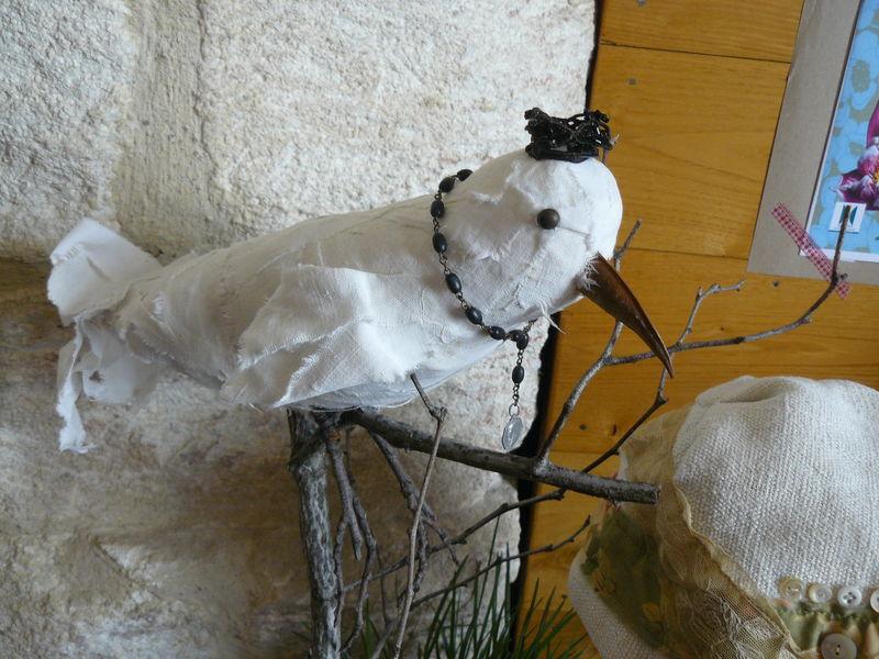 Le Merle blanc -vendu (60€)