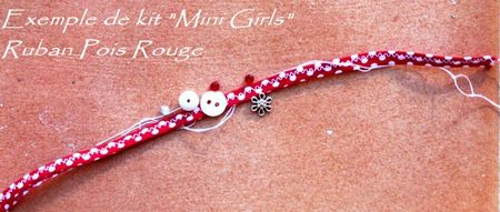 EXEMPLE KIT MINI GIRLS POIS ROUGES