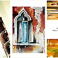 Stage aquarelle villes et villages / watercolour workshop