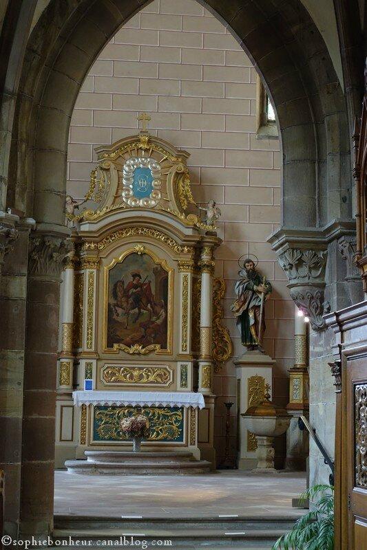 Marmoutier église vue