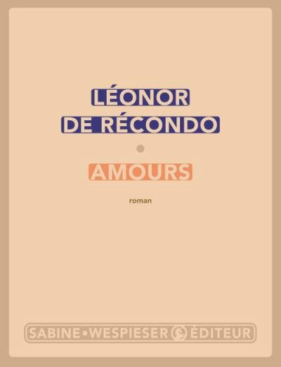 amours de Leonor de Recondon