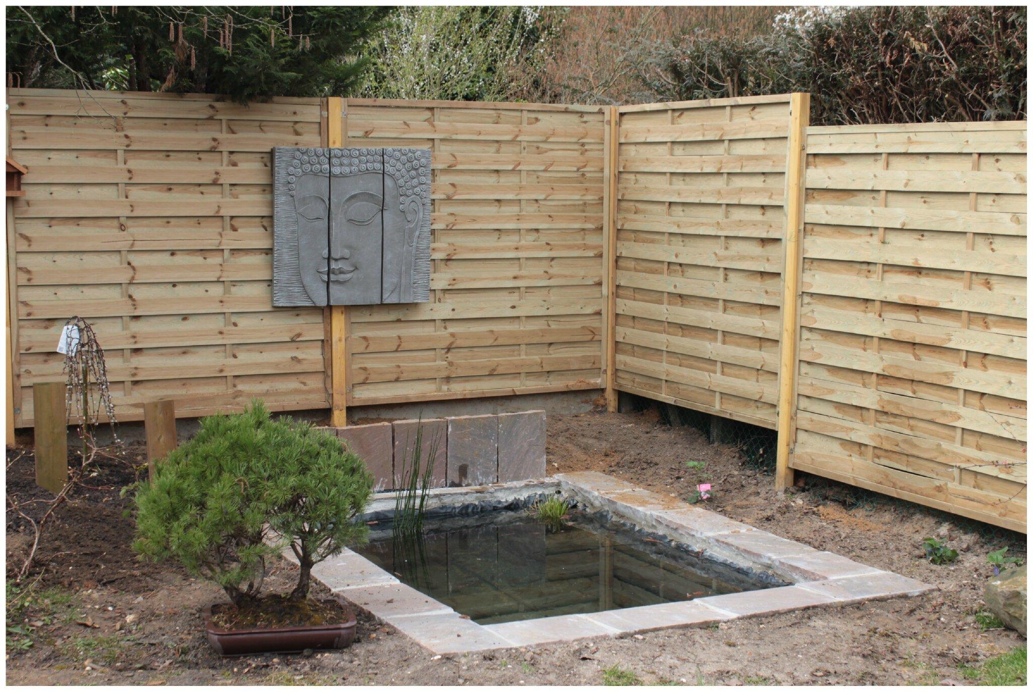 Mise en eau du bassin vert chez moi le jardin d 39 ang lique for Eau verte bassin exterieur