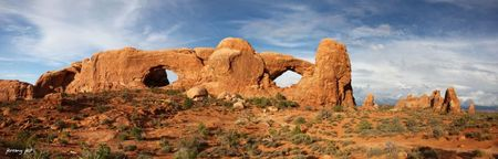 windows arches panoramic