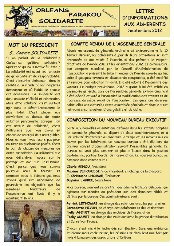 LETTRE INFO2012