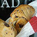 Petits pains au lait aux pépites de chocolat sans oeufs...