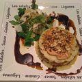 Parmentier de canard aux noisettes et au foie gras