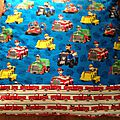 fire engine large pillow case