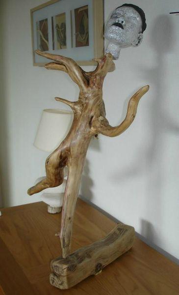belle réalisation de sculpture naturel