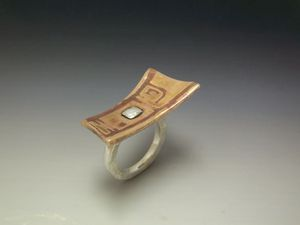 Bronze__copper__silver_clays___seamless_ring
