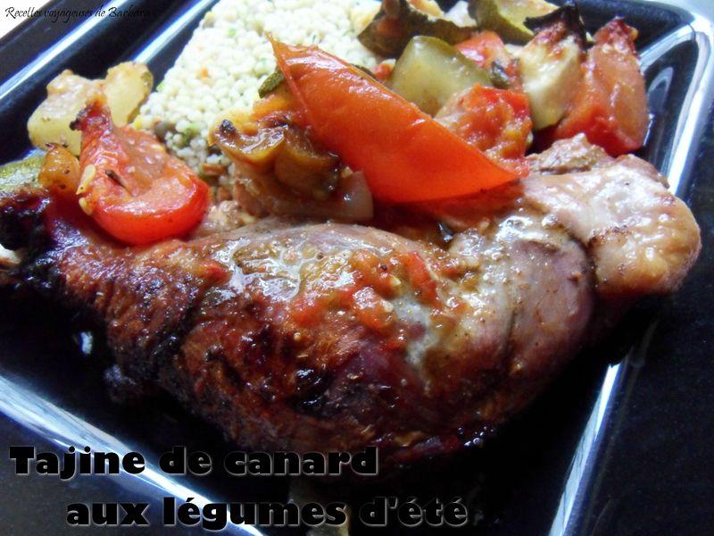 tajine de canard aux légumes d'été1