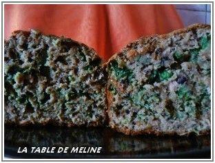Pain de thon mâche et tartare d'algues 7