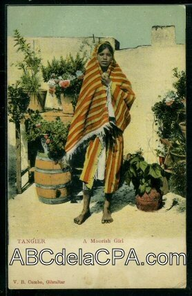 Tanger - A moorish girl