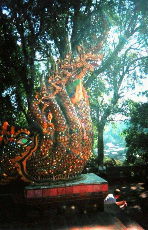 Wat Doi Suthep Nagas