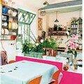 Une cuisine aux couleurs acidulées