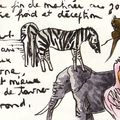 croquis d'animaux