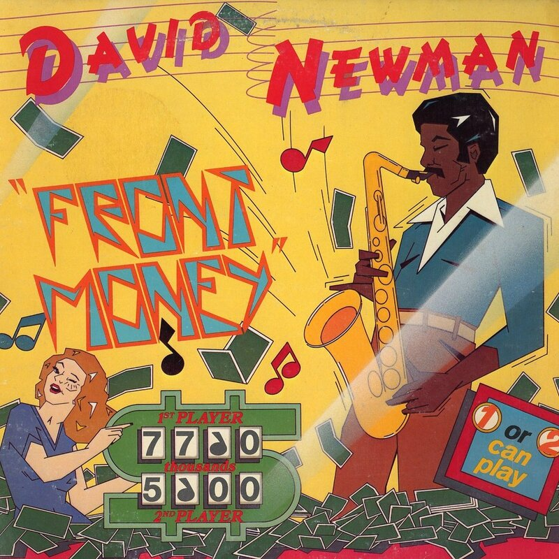 David Newman - 1977 - Front Money (Warner)