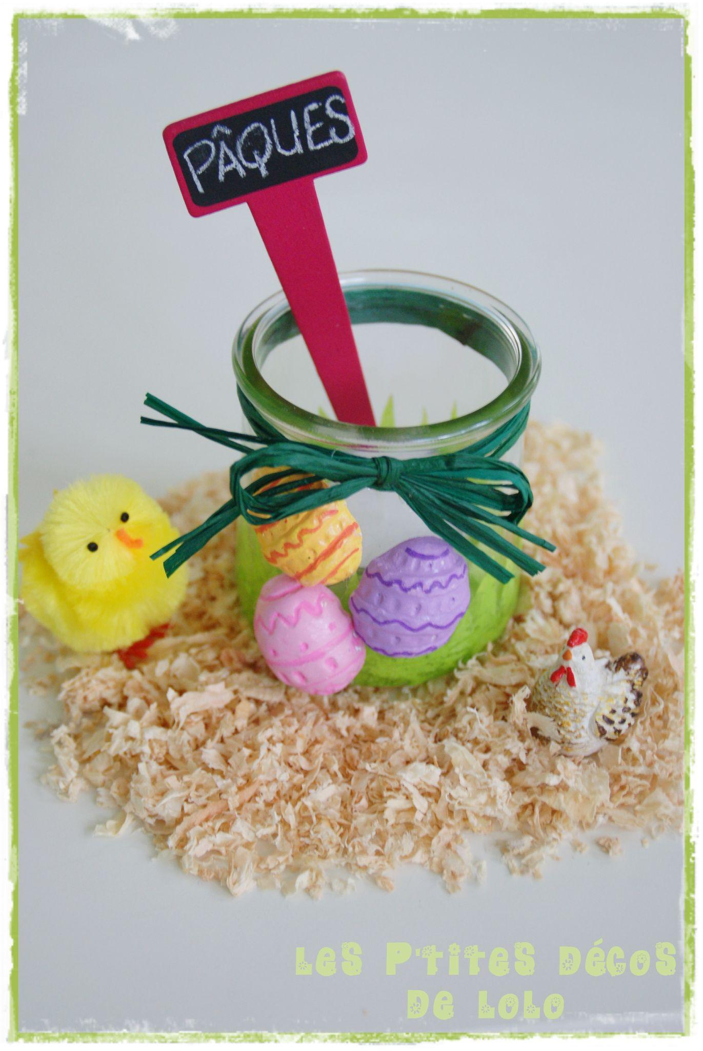 Photophore pour Pâques