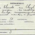 Les soldats de la 1ere guerre mondiale : gaume marius joseph