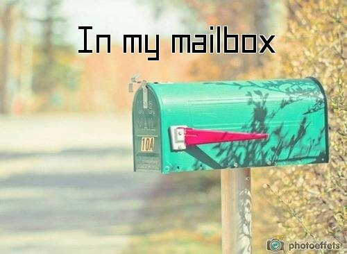 in my mailbox