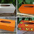 Une boite à mouchoir spécial pâques- activité pour les enfants