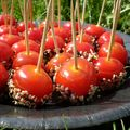 Tomates cerises sésame et caramel