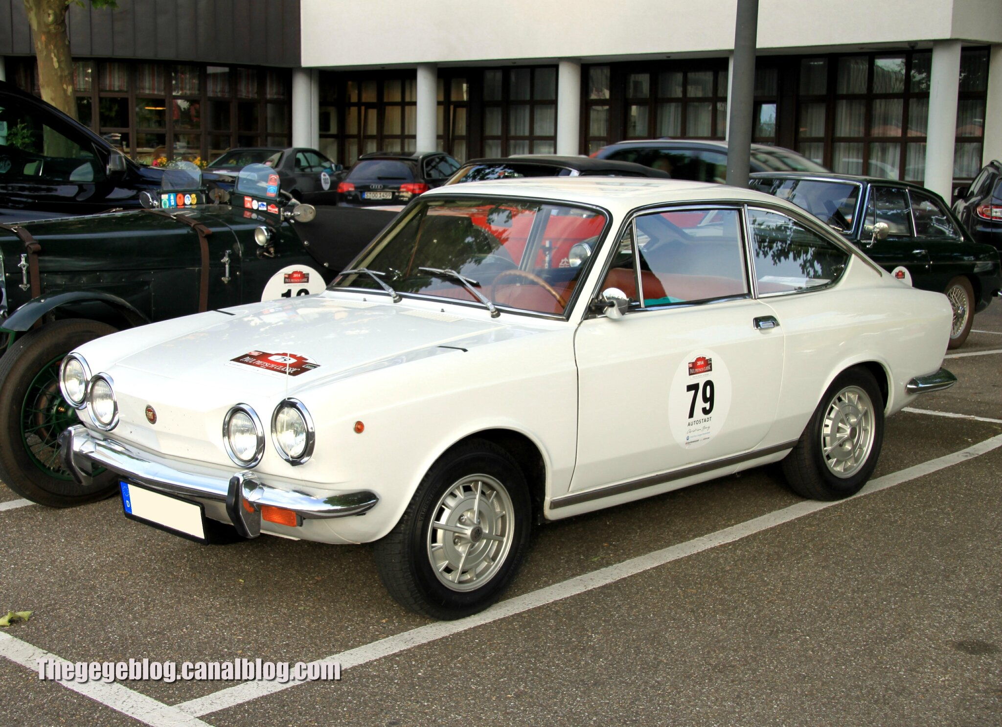 Fiat 850 sport coup 1971 1972 paul pietsch classic 2014 the g g blog - Fiat 850 coupe sport a vendre ...