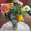 Des fleurs et du chocolat. que du bonheur !!!!!