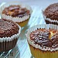 Muffins citron et chocolat