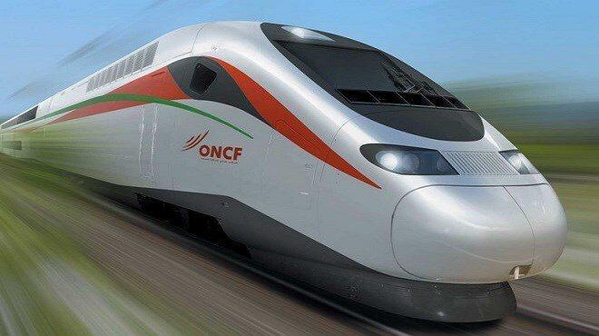 Le premier TGV du Continent.