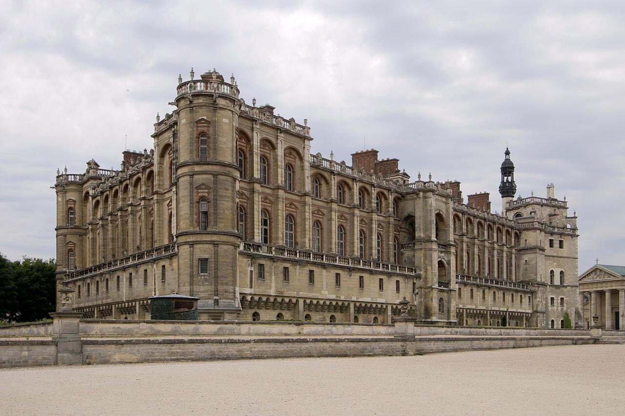 Chateau de saint germain en laye yvelines france for Chateaux en yvelines